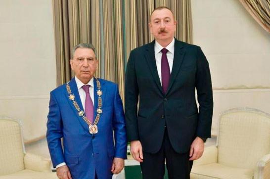 Орден из рук Алиева – предвестник несчастья