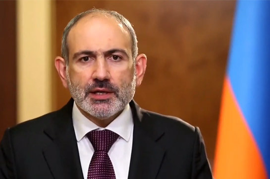 Armenia's PM: Rejection of the right to self-determination could only lead to oppression and further violence