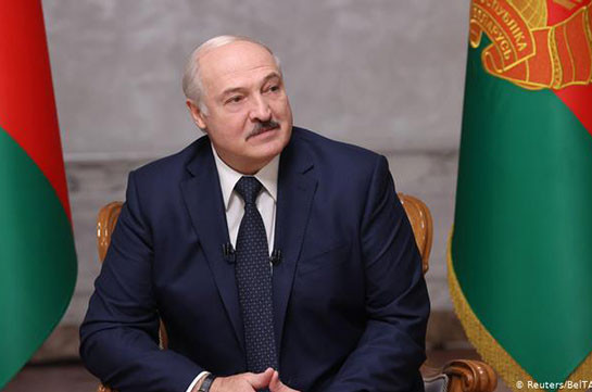 Lukashenko sworn in as Belarusian president