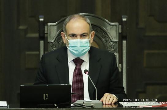 Премьер-министр: Ситуация с распространением коронавируса в Армении вновь обостряется