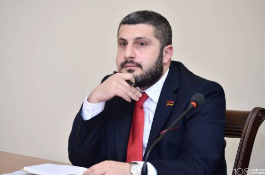 Former deputy Armen Pambukhchyan appointed deputy minister of emergency situations