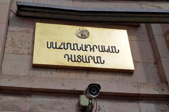 Yervand Khundkaryan not elected CC president