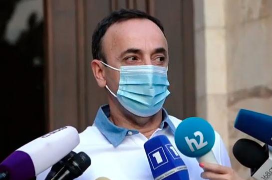 Ոչինչ չեմ ասել, հիմա էլ չեմ ասում. Թովմասյանը՝ ՍԴ նախագահի թեկնածու ինքնաառաջադրման մասին (Տեսանյութ)