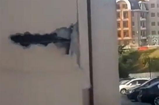 Ադրբեջանական ԱԹՍ-ները հարվածներ են հասցրել Ստեփանակերտին (Տեսանյութ)