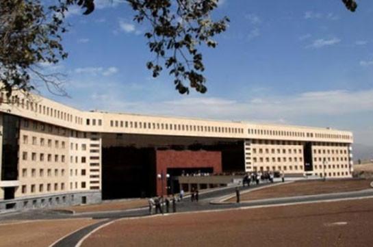 Действия Азербайджана были запланированы давно – Минобороны Армении