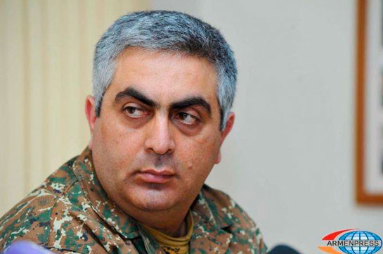 Artsrun Hovhannisyan reports about hitting enemy's another UAV