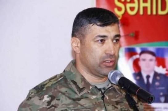 Армянской стороне удалось взять в плен азербайджанского генерала Маиса Бархударова – азербайджанский источник