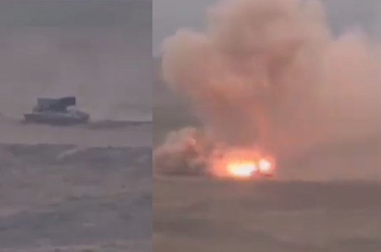 Armenian side reports no casualties from the usage of TOS heavy artillery by Azerbaijan: MOD spokesperson (video)
