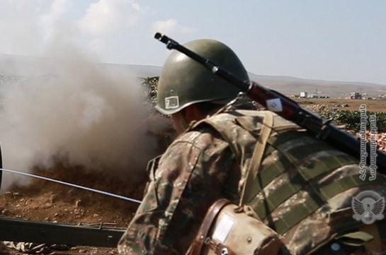Fights continue with different intensiveness, fighting spirit of Armenian servicemen high: MOD spokesperson