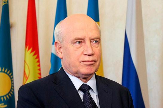 Глава Исполкома СНГ призвал к прекращению боевых действий в Нагорном Карабахе