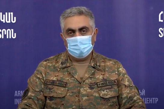 Информация о гибели высокопоставленного армянского военнослужащего не соответствует действительности
