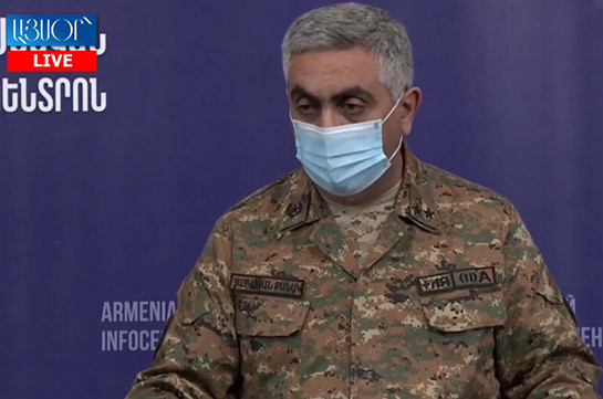 Вчера территория Армении подверглась обстрелам со стороны Азербайджана – Арцрун Ованнисян