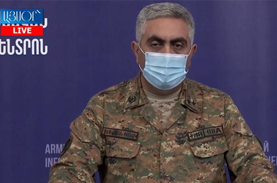 На данный момент у армянской стороны нет потерь – Арцрун Ованнисян