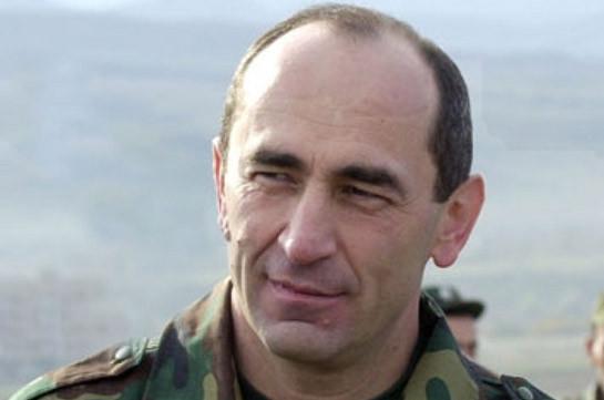 Armenia's ex-president Robert Kocharyan leaves for Artsakh