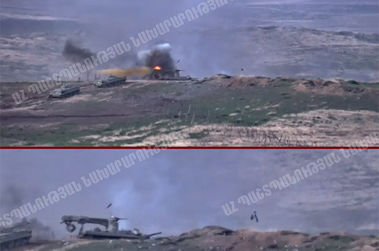 Artsakh Defense Army destroys 11 Azerbaijan's UAVs, armored vehicle, 5 tanks and big number of manpower