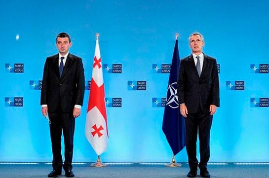 Столтенберг призвал Грузию подготовиться к членству в НАТО