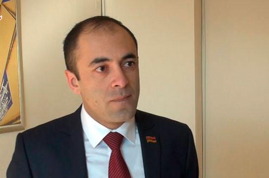 My Step MP Tigran Ulikhanyan resigns