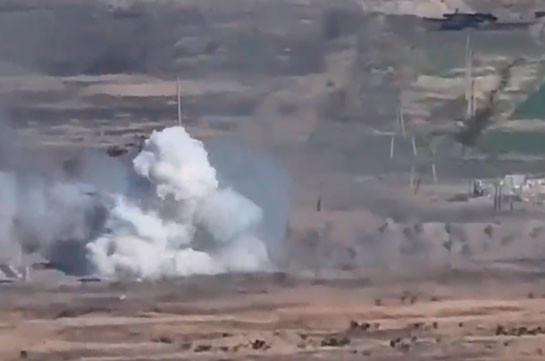 ՊԲ-ն շարունակում է վստահորեն ոչնչացնել ադրբեջանական բանակի զինվորականներին և մարտական տեխնիկան (Տեսանյութ)