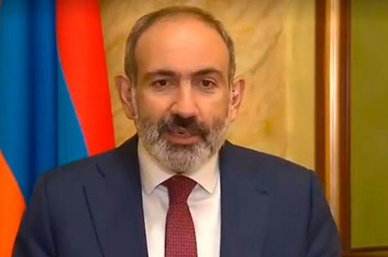 Пашинян: Баку должен немедленно прекратить агрессию против Карабаха и Армении