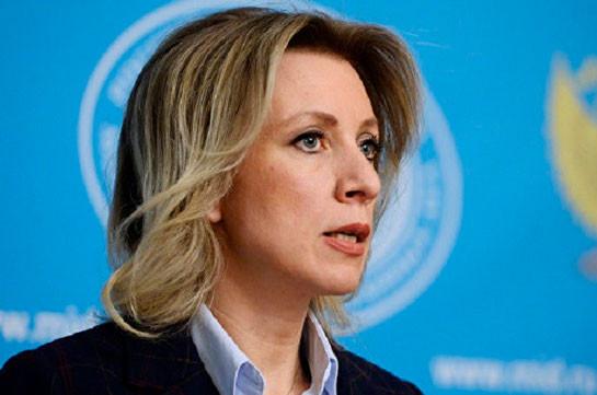 Захарова: О позиции Турции по Карабаху мы знали давно