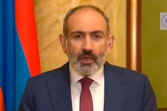 Пашинян: Азербайджанские силы не смогли достичь военного успеха в Карабахе