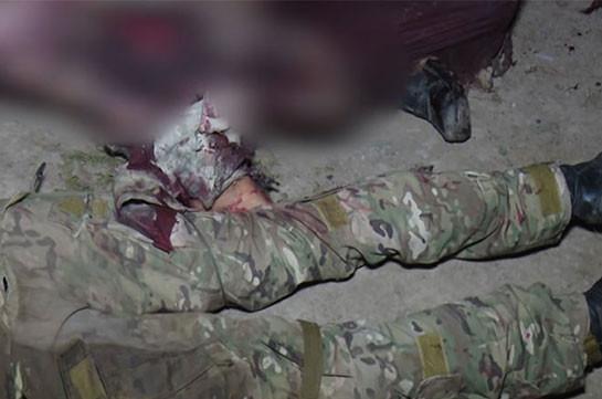 Азербайджан продолжает нести потери в Карабахе. Кадры уничтоженных солдат