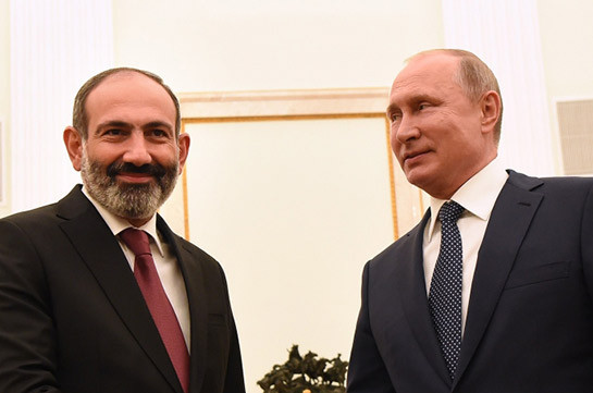 Пашинян: Возможность военного вмешательства Москвы с Путиным не обсуждалась
