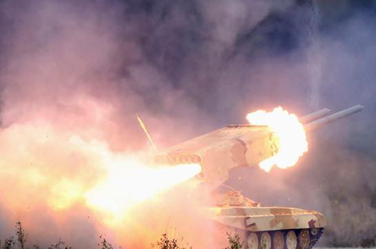 Ոչնչացվել է հակառակորդի «ՏՕՍ-1Ա» ծանր հրանետային համակարգ, մեծ թվով կենդանի ուժ. Շուշան Ստեփանյան