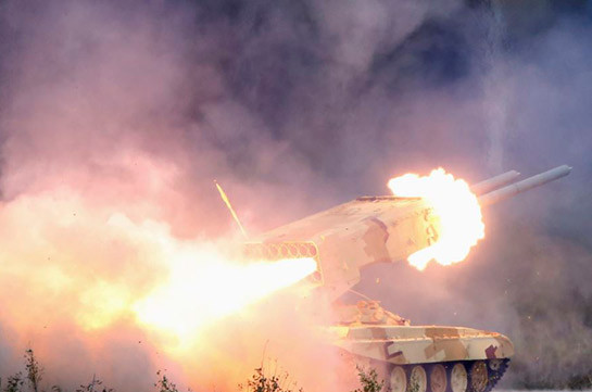 MOD spokesperson: Artsakh Defense Army causes heavy losses to enemy, eliminates TOS-A1 heavy artillery system