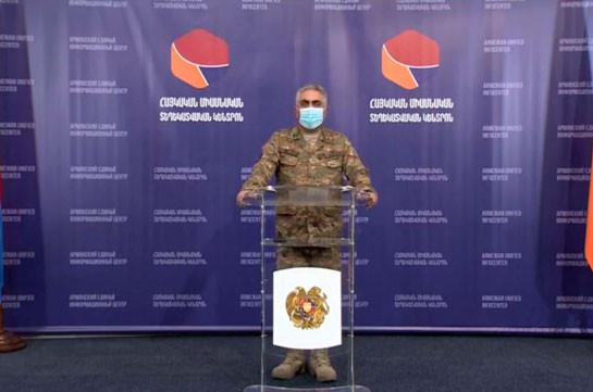 Потери Азербайджана за сутки: 130 военнослужащих, 200 раненых, 29 танков и бронетехники