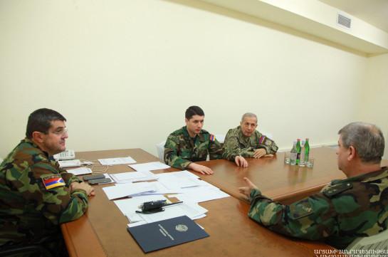 Директор СНБ Армении находится в Арцахе