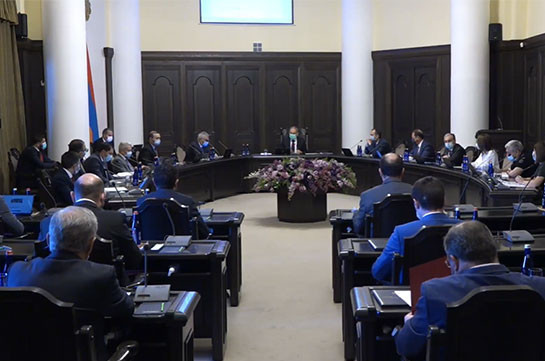 Armenia's government not to convene cabinet sitting today