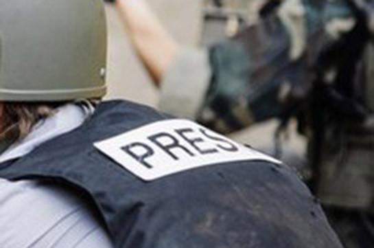 «ՍիվիլՆեթի» հինգ հոգանոց նկարահանող խումբը Մարտունիում «Գրադի» հրետակոծության տակ է ընկել
