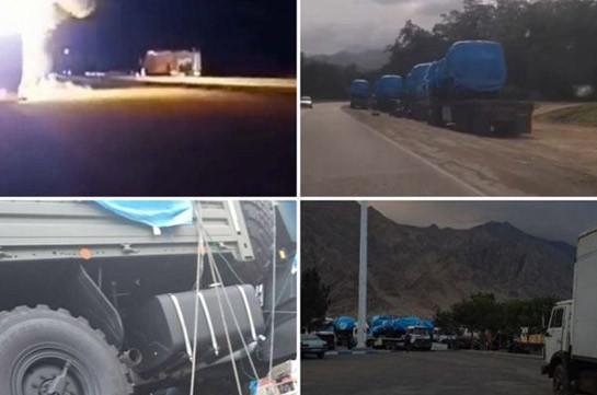 Իրանում ադրբեջանցիների կողմից այրված Հայաստանի համար «Կամազ» բեռնատարներում զենք չի եղել