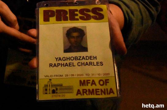 Զոհվել է Le Monde-ի լրագրողներին ուղեկցող երիտասարդը. «Հետք»