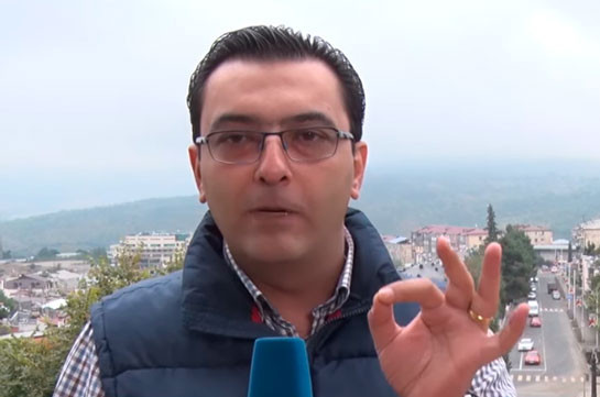 """Stay out of here!"" Director of Armnews TV Channel addresses mercenaries fighting on Azerbaijan's side in Arabic (video)"
