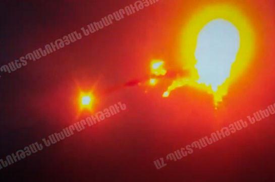 Уничтожение авиации Азербайджана в Карабахе (Видео)