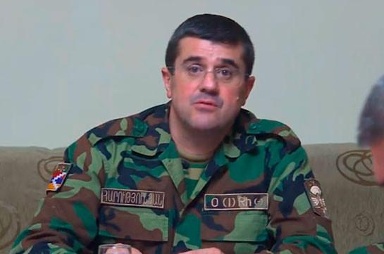Нахожусь на линии фронта: со мной директоры СНБ Армении и Арцаха – Араик Арутюнян