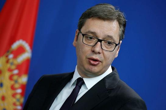 Вучич считает, что международное сообщество показало бессилие в вопросе Нагорного Карабаха