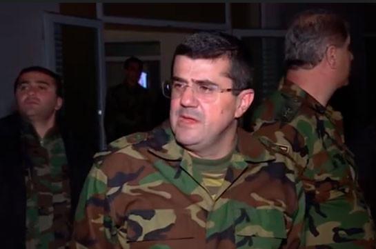 Армия обороны Карабаха улучшила свои позиции, подготовив почву для дальнейшего продвижения - президент