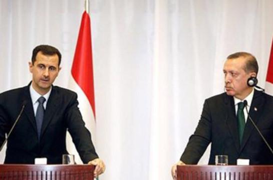 Асад назвал Эрдогана главным инициатором эскалации конфликта в Карабахе