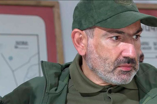 Пашинян: «Да, Арцах – это Армения, страна армян»