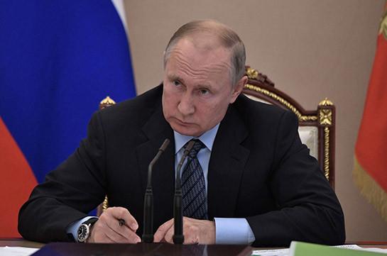 Путин призвал к скорейшему прекращению огня в Карабахе (Видео)