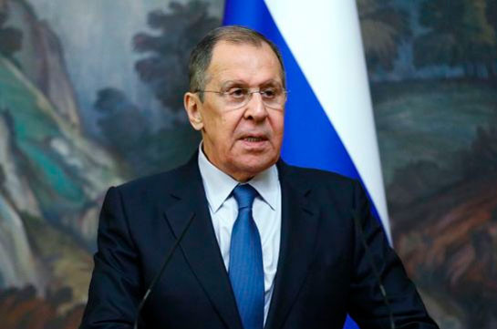Russia's FM says works underway on applying ceasefire control mechanism in Nagorno Karabakh