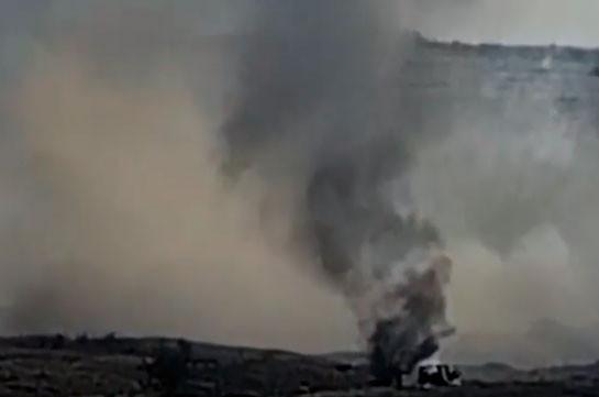 Уничтожение азербайджанской колонны (Видео)