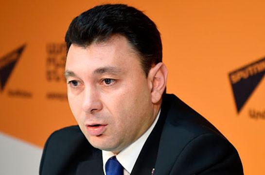 Эдуард Шармазанов: У всех нас одна задача – Арцах, сегодня не время для внутриполитических раздоров