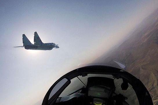 На северном направлении зоны карабахского конфликта ВС Азербайджана применяют авиацию и артиллерию