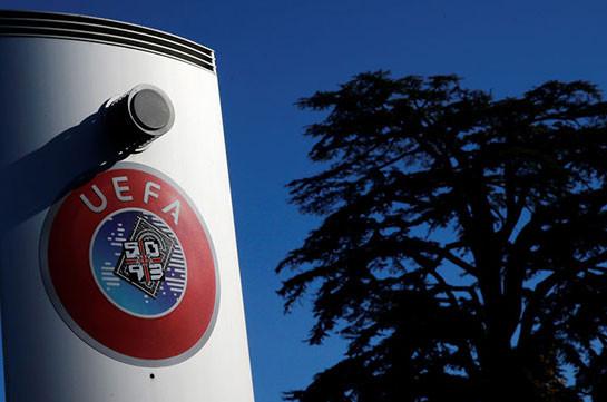 УЕФА запретил проведение матчей в Армении и Азербайджане из-за конфликта в Карабахе