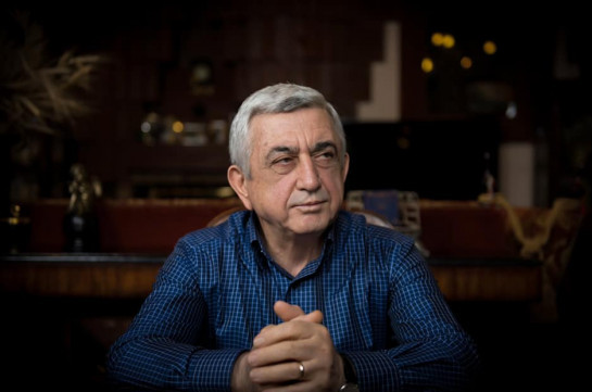 Serzh Sargsyan: Armenia's former president rails at 'madness' of Nagorno-Karabakh war - The Independent