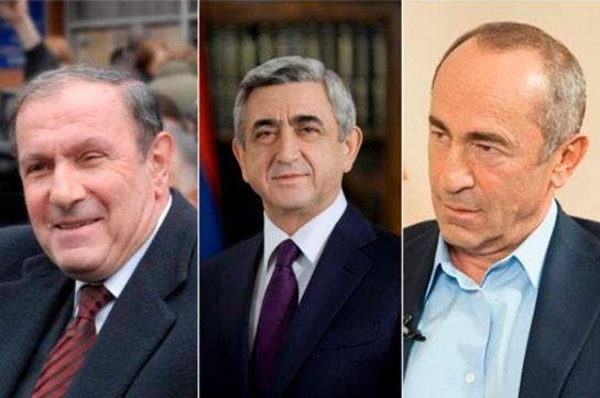 Armenia's three ex-presidents meet amid military clashes in Nagorno Karabakh